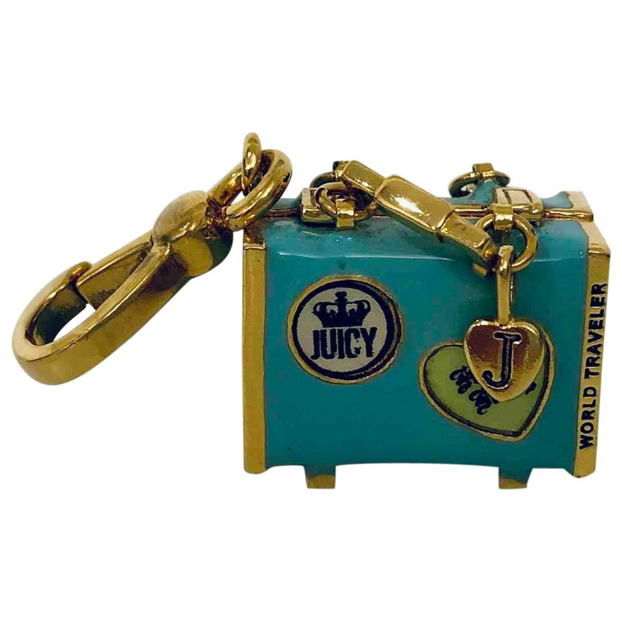 Juicy Couture \N Blue Silver Bag charms for Women \N