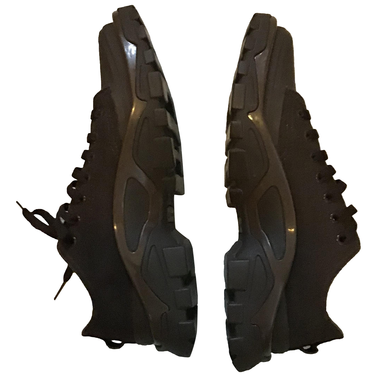 Adidas X Raf Simons \N Brown Cloth Trainers for Men 9 US