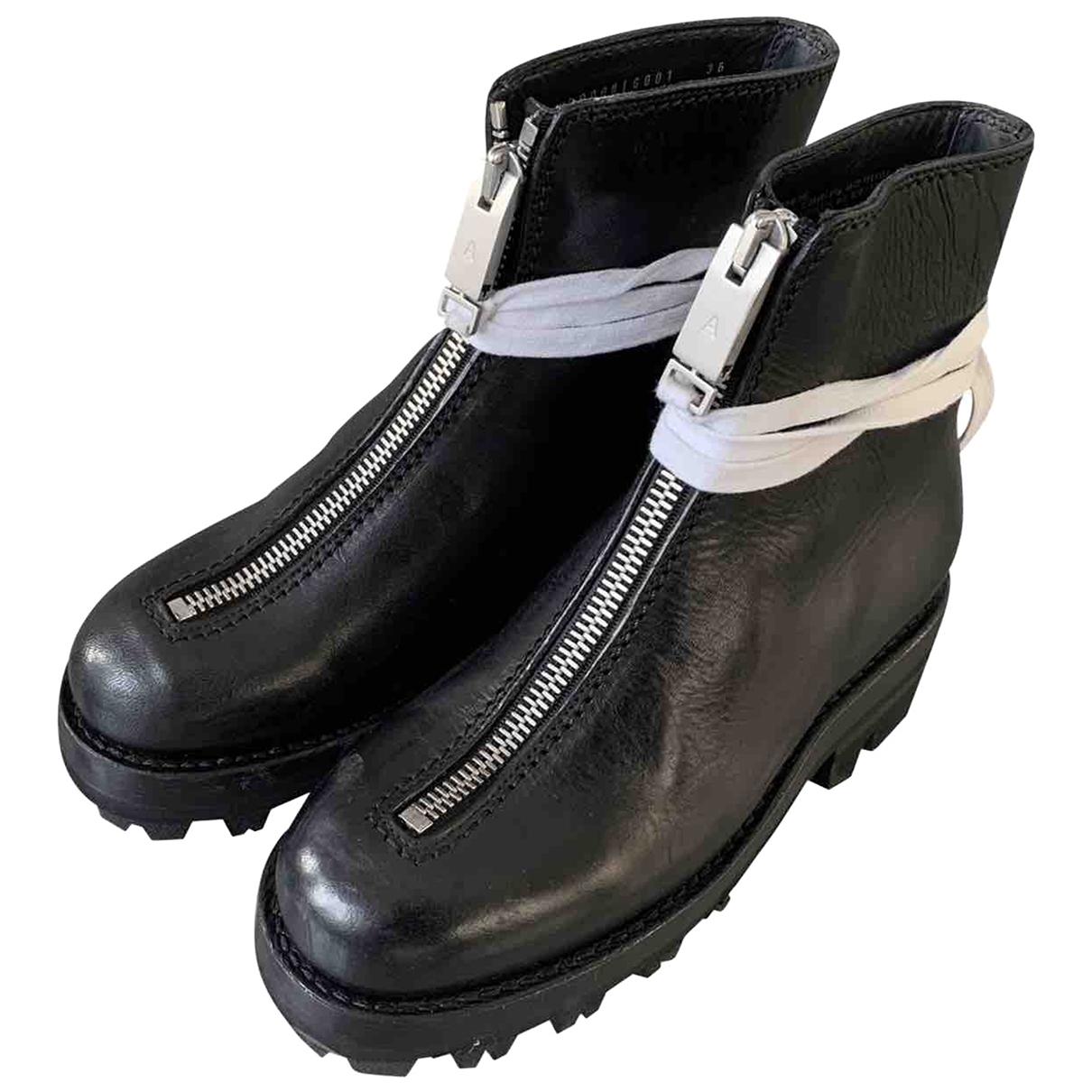 Alyx \N Stiefel in  Schwarz Leder