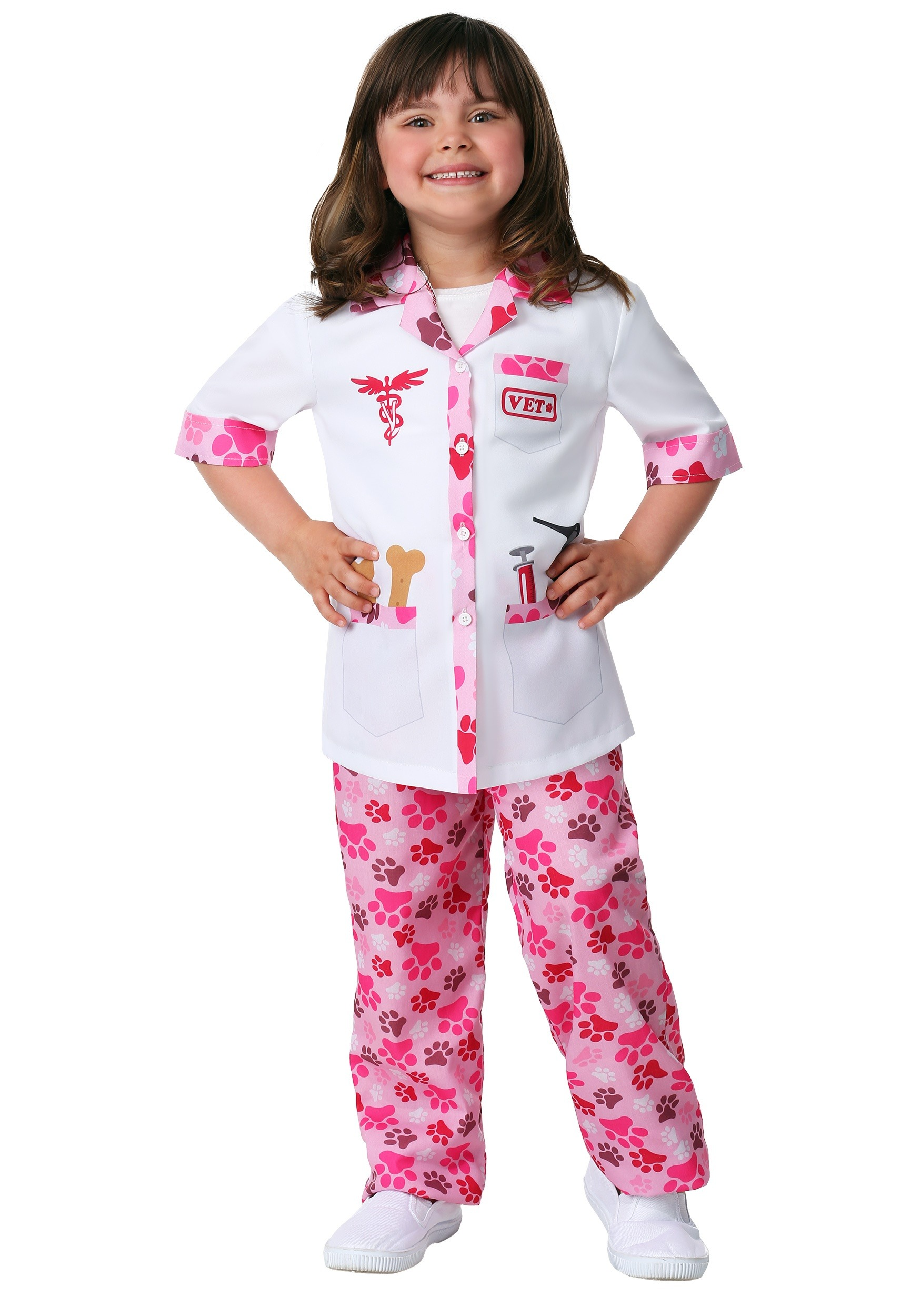 Veterinarian Costume for a Girl