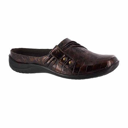 Easy Street Womens Holly Slip-On Shoe, 10 Medium, Brown