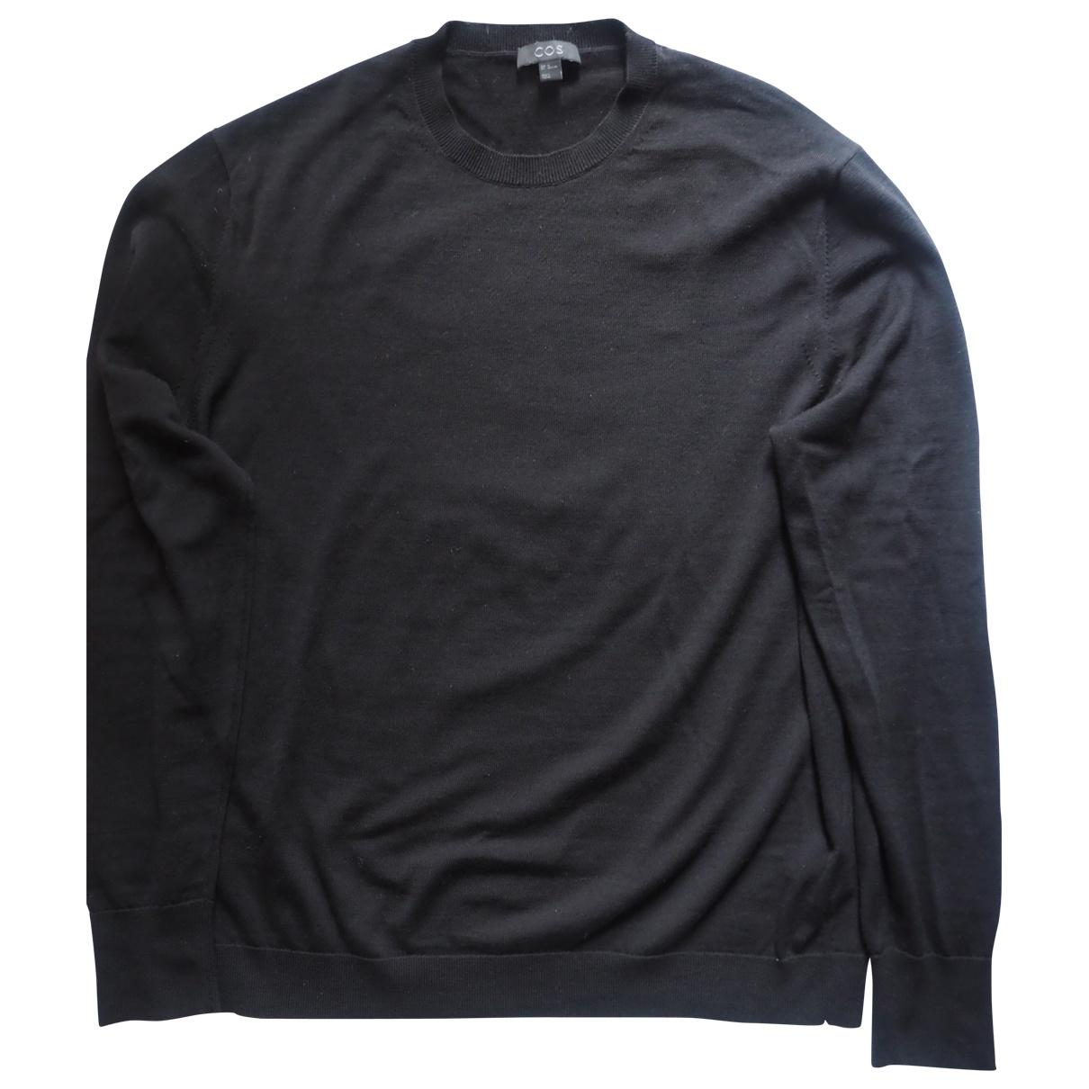 Cos \N Black Wool Knitwear & Sweatshirts for Men XL International