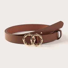 2 piezas cinturon con anillo