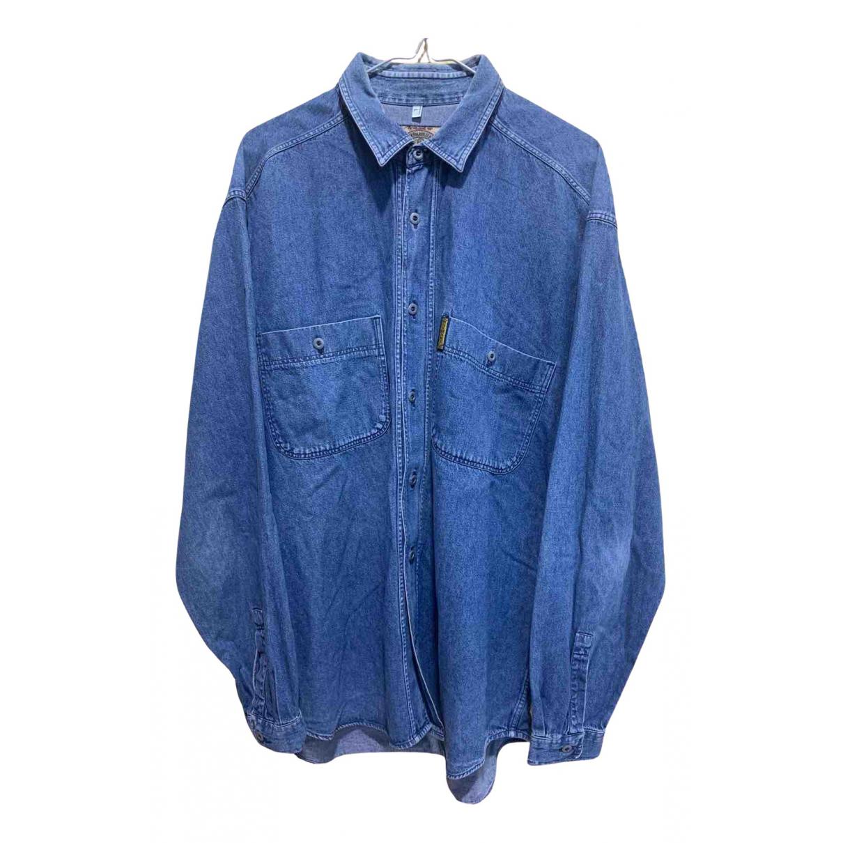 Armani Jeans \N Hemden in  Blau Denim - Jeans