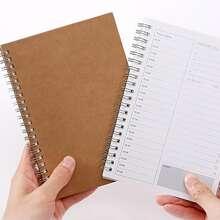 1pack Schedule Random Spiral Notebook