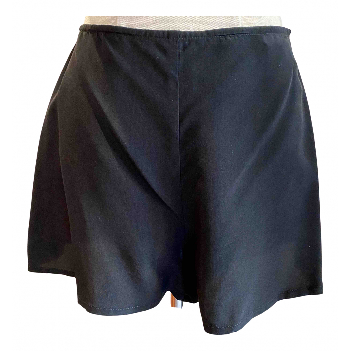 Bec & Bridge \N Black Silk Shorts for Women 2 US