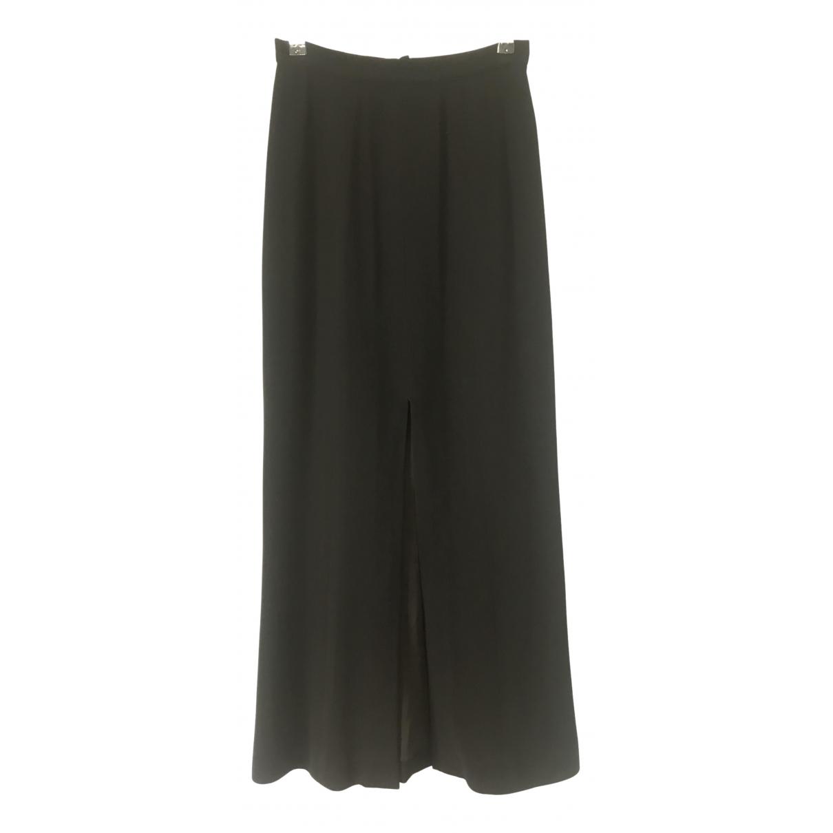 Chanel - Jupe   pour femme en laine - noir