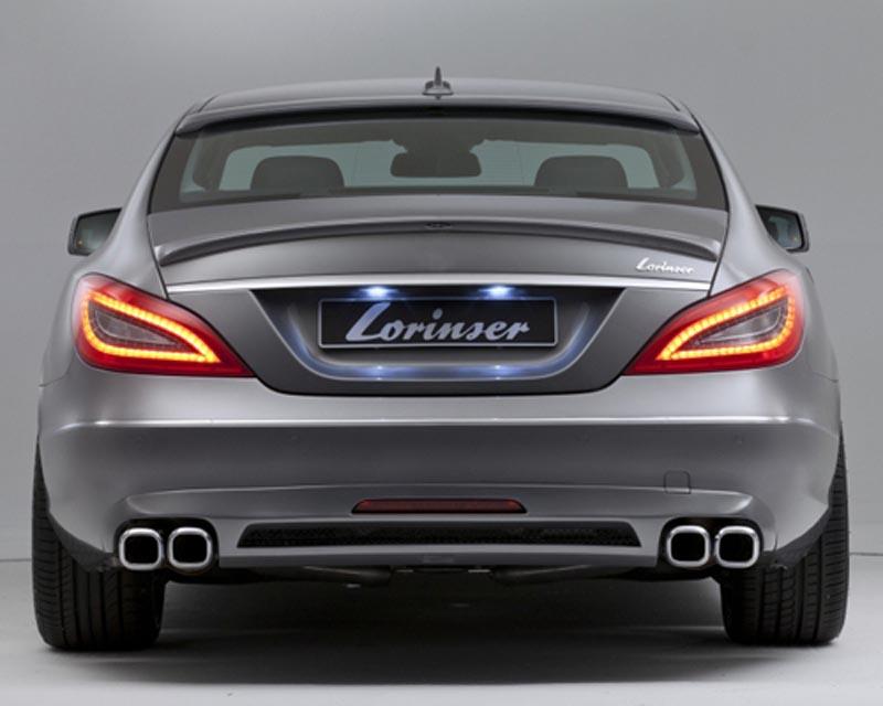 Lorinser 488 0218 20 Elite Rear Bumper Cover Mercedes-Benz CLS-Class 11-12
