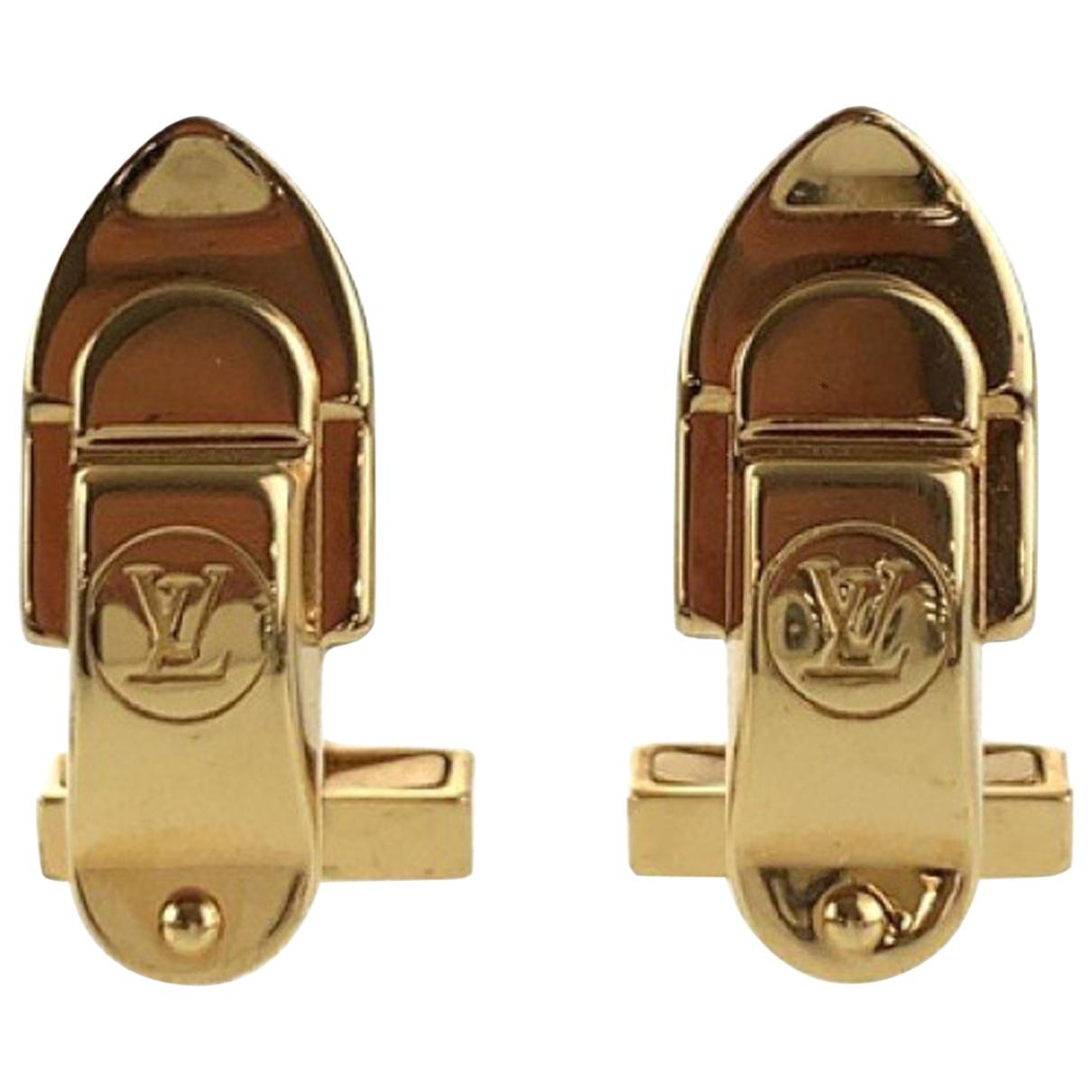 Louis Vuitton - Boutons de manchette   pour homme en acier