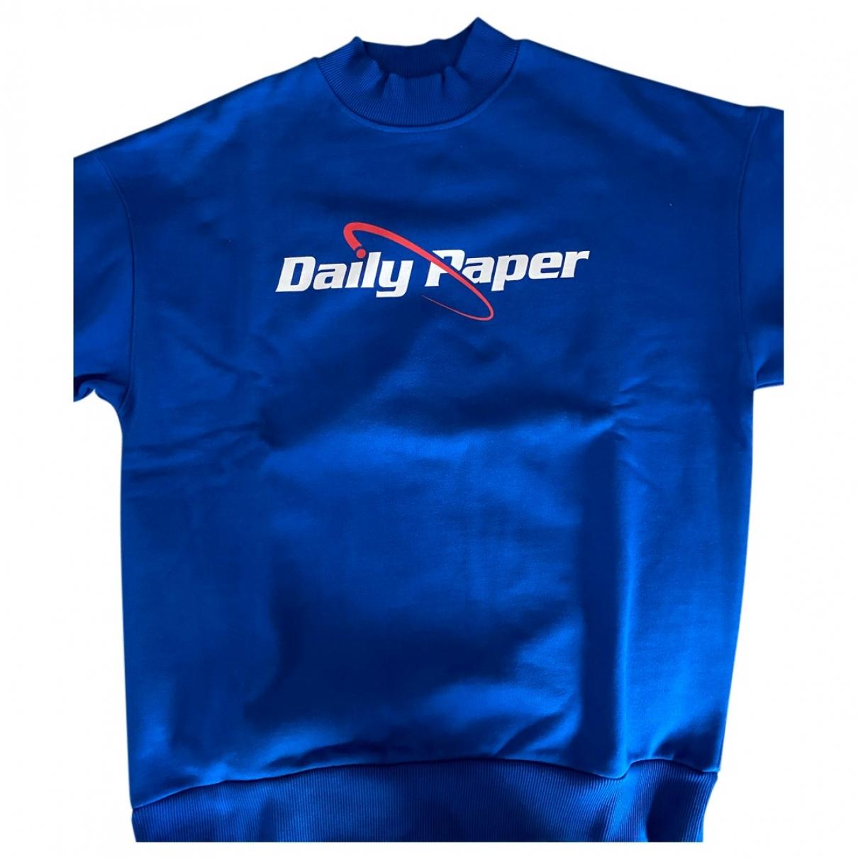 Daily Paper - Pulls.Gilets.Sweats   pour homme en coton - bleu