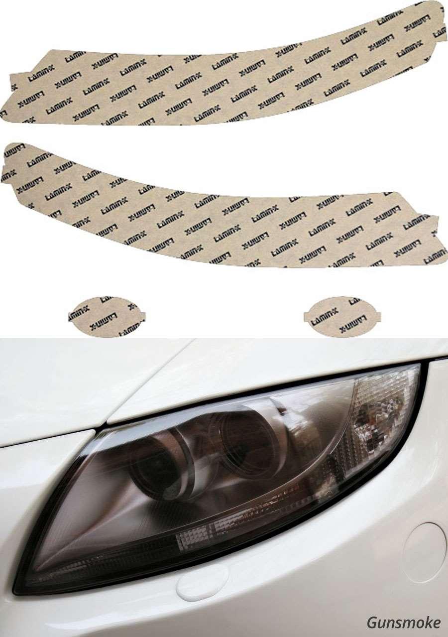 Acura TL 04-06 Gunsmoke Headlight Covers Lamin-X AC006G