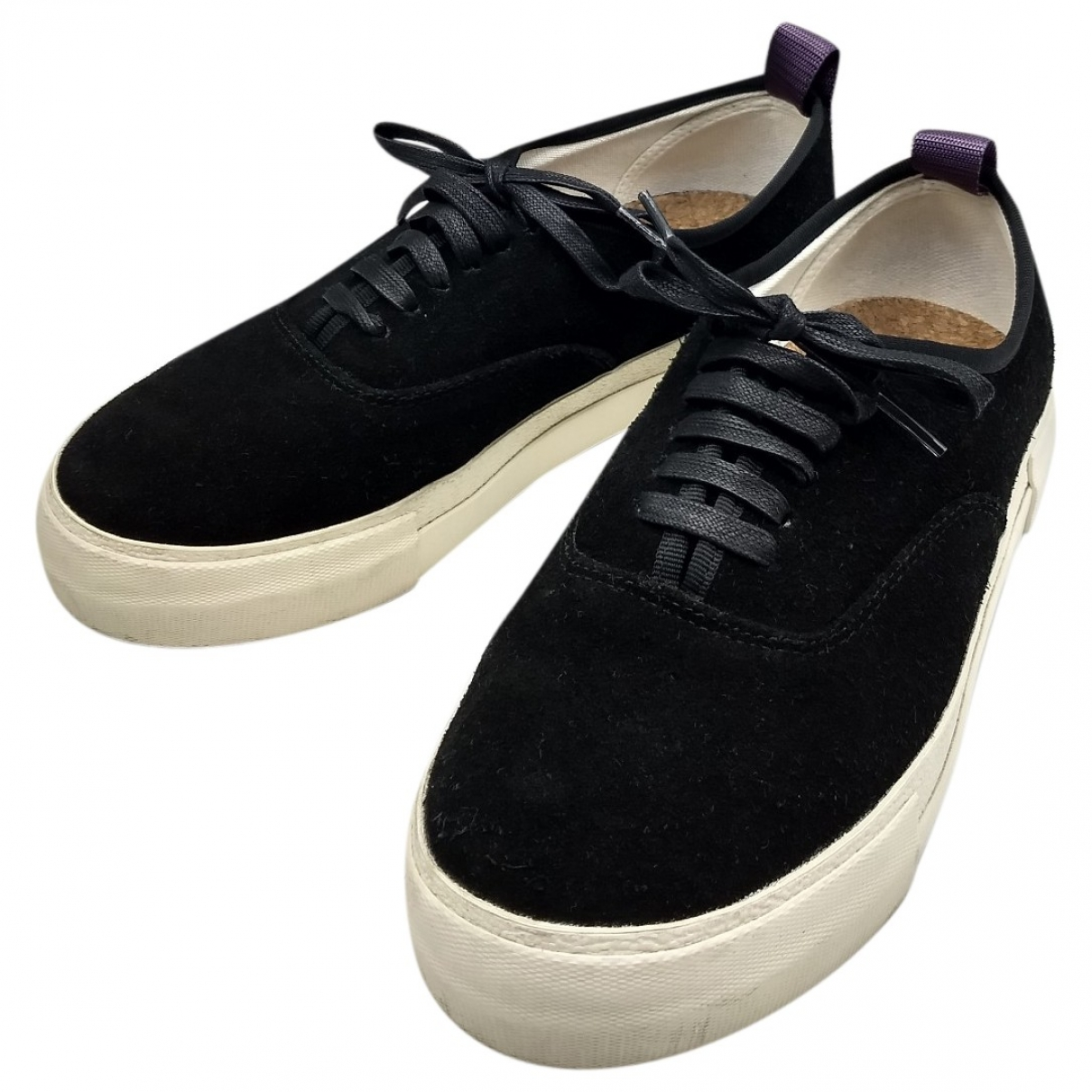 Eytys \N Black Suede Trainers for Men 42 IT