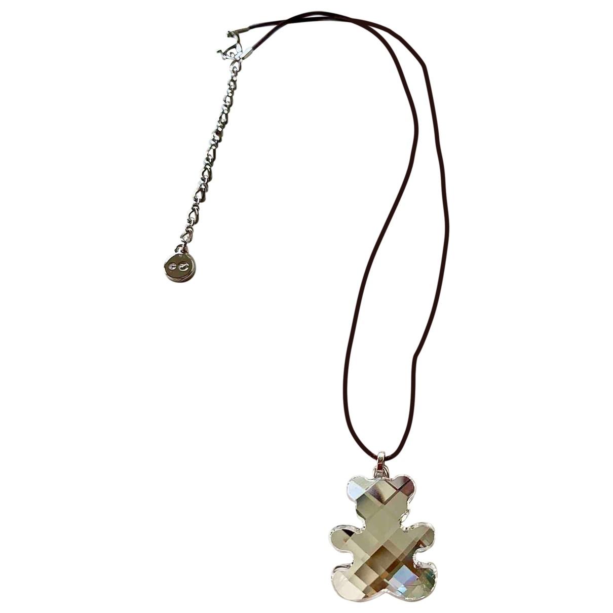 Swarovski \N Halskette in Versilbert