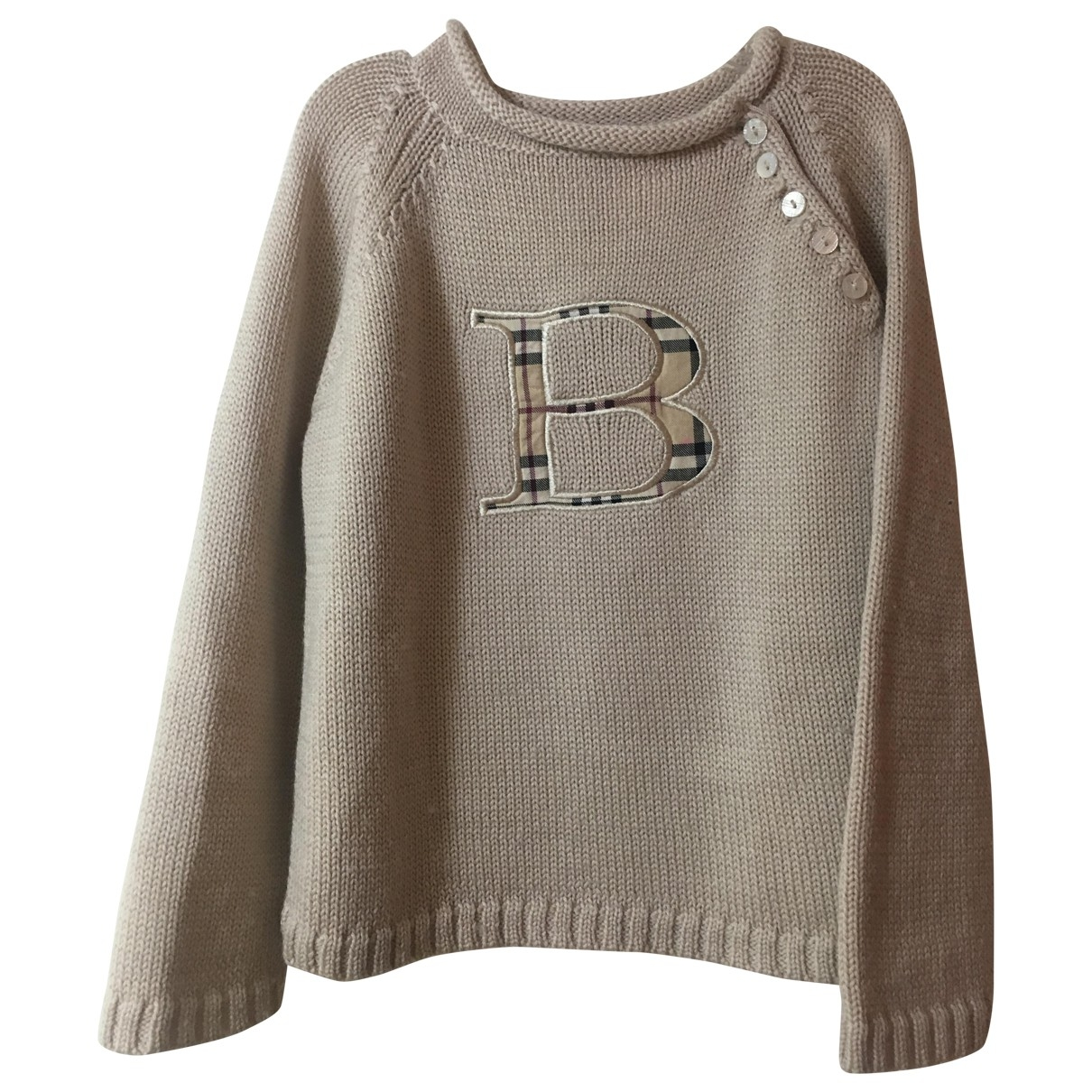 Burberry \N Beige Wool Knitwear for Kids 3 years - up to 98cm FR
