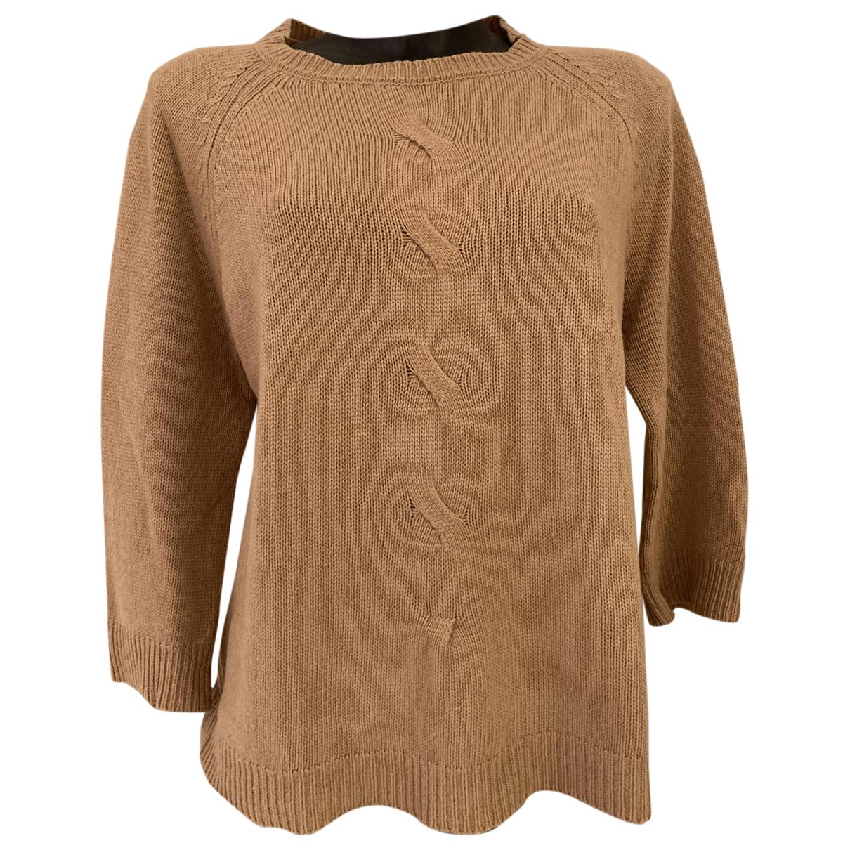 Jucca - Pull   pour femme en laine - camel