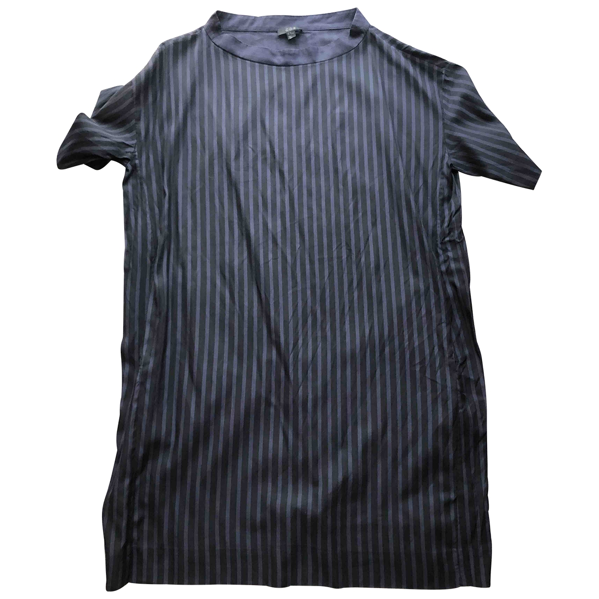 Cos \N Blue Cotton dress for Women 44 FR