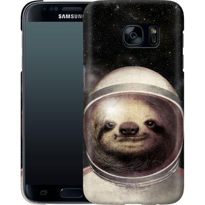 Samsung Galaxy S7 Smartphone Huelle - Space Sloth von Eric Fan