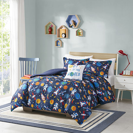 Mi Zone Kids Conner Comforter Set, One Size , Blue