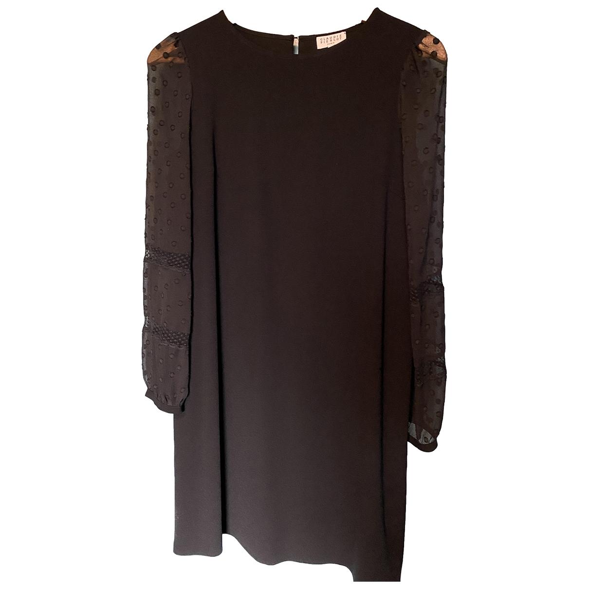 Claudie Pierlot Spring Summer 2019 Black dress for Women 38 FR