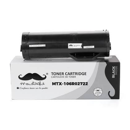 Xerox 106R02722 16R2722 cartouche de toner compatible noire haute capacité - Moustache®