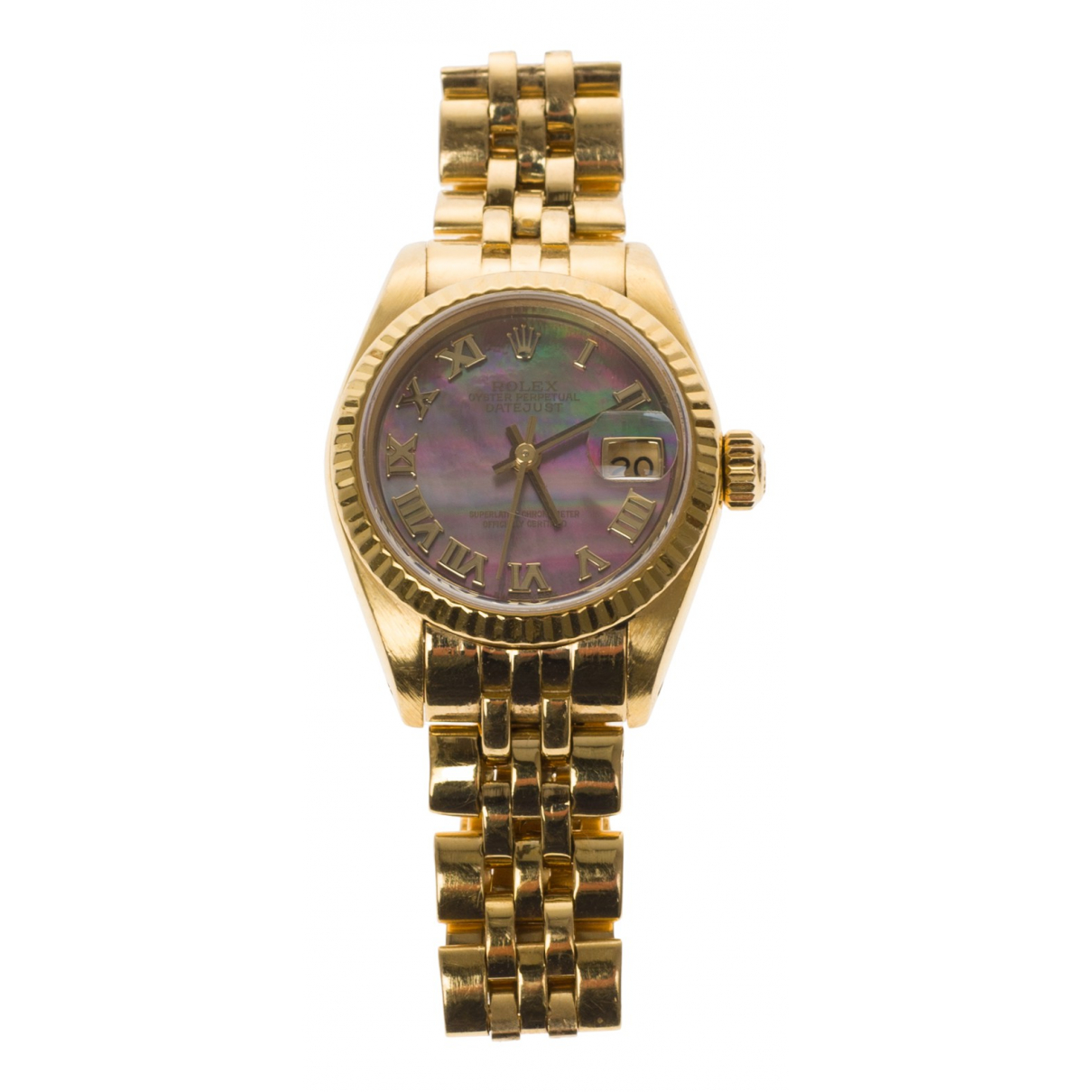 Reloj Lady Oyster Perpetual 24mm de Oro amarillo Rolex