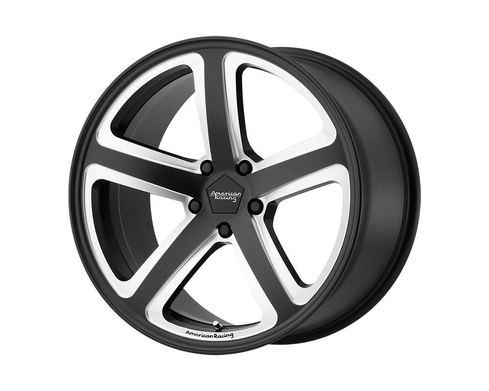 American Racing AR922 Hot Lap Wheel 18x8 5x5x120 +38mm Satin Black Milled