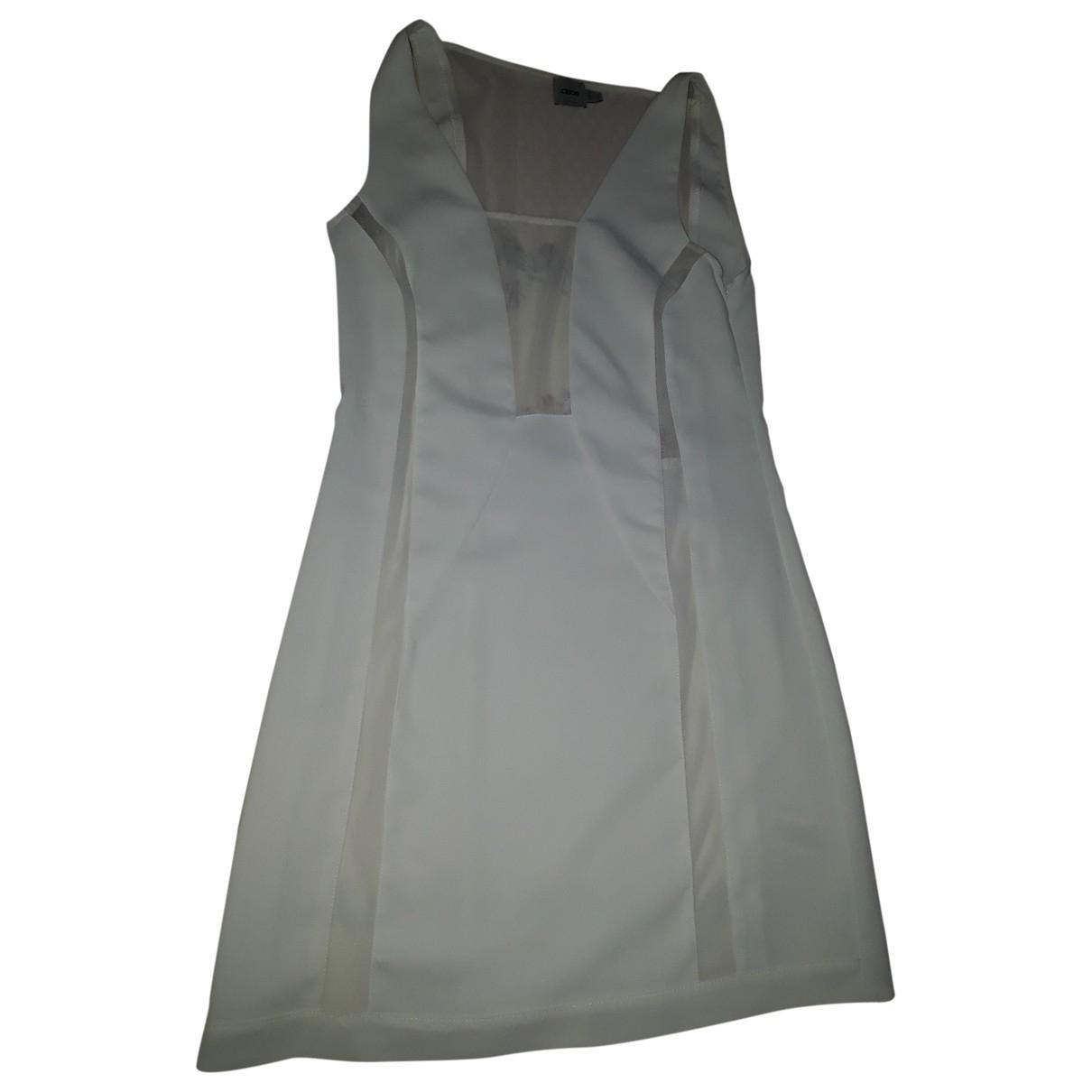 Asos - Robe   pour femme en coton - elasthane - beige