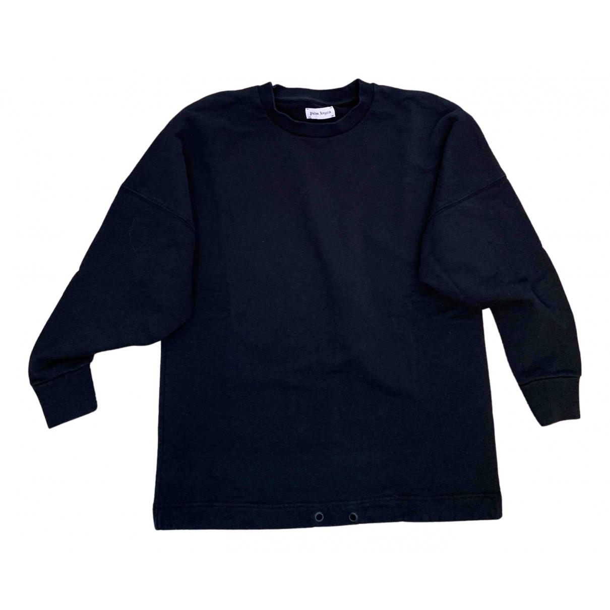 Palm Angels - Pull   pour femme en coton - noir