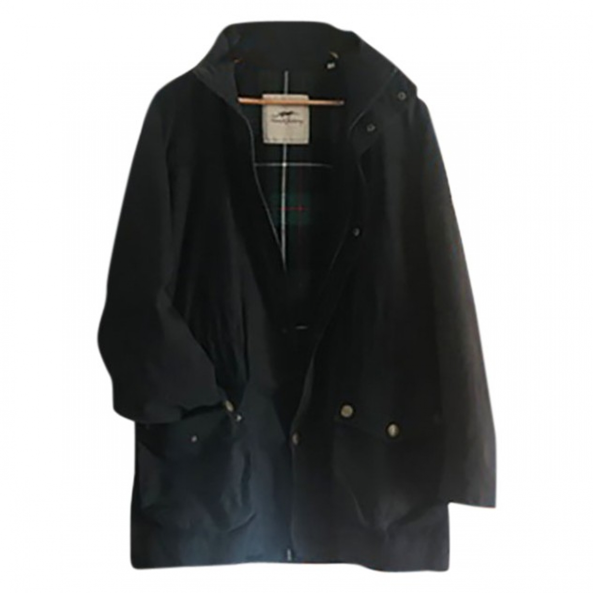 Burberry \N Navy Cotton coat for Women L International