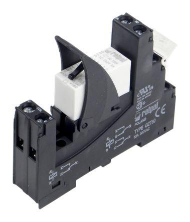 Relpol DPDT DIN Rail Latching Relay - 8 A, 230V ac