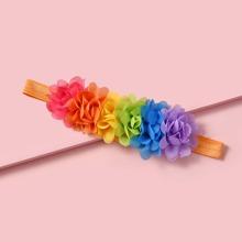 Baby Stirnband mit Blumen Dekor