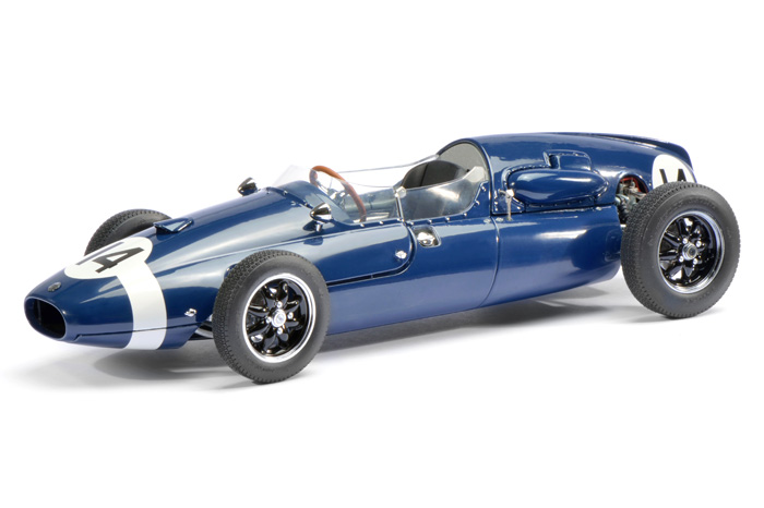 Cooper T51 14 Sterling Moss Limited to 1500pc Worldwide 1/18 Diecast Model Car by Schuco