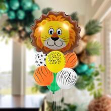 9 piezas set de globo con dibujos animados