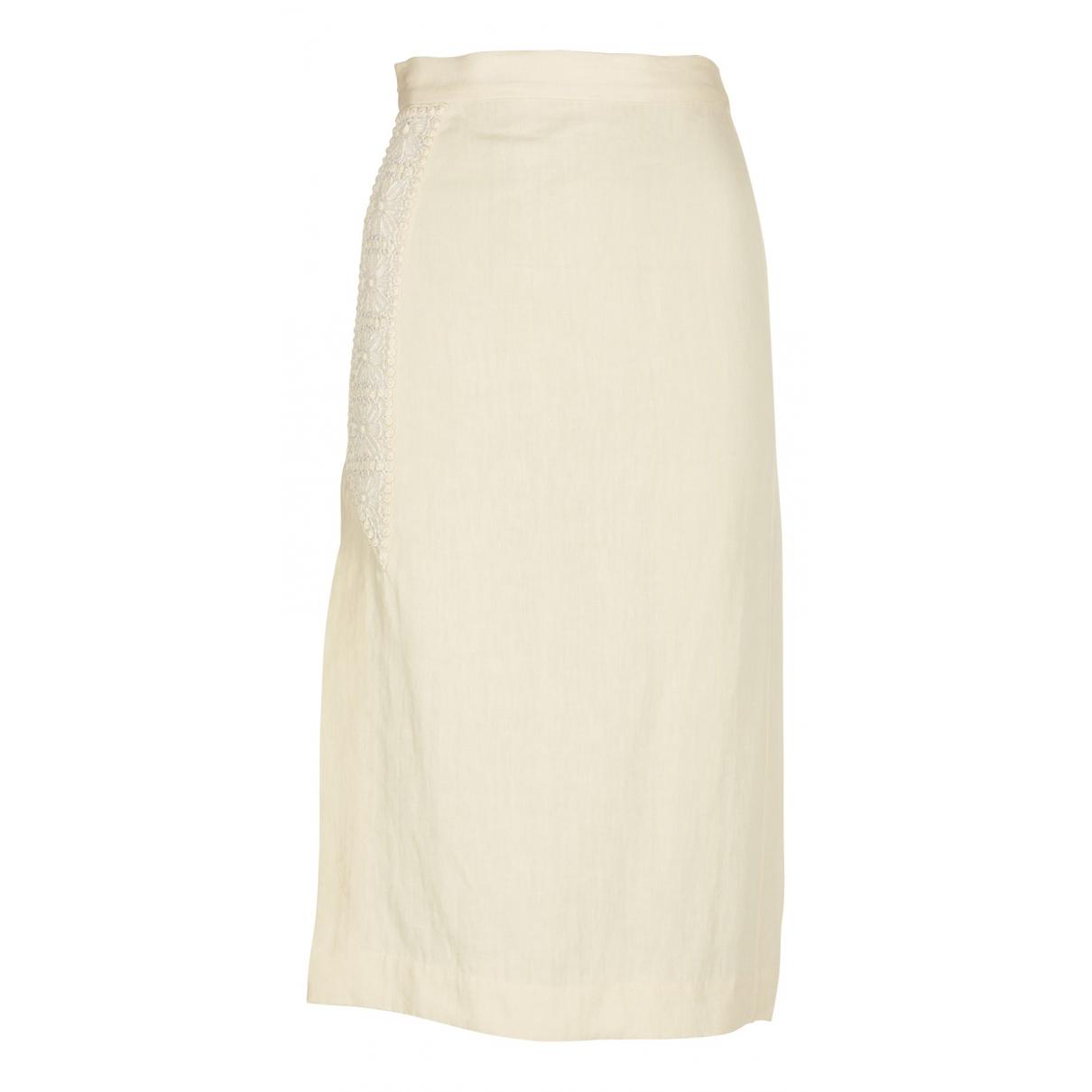 Isabel Marant - Jupe   pour femme en lin - beige