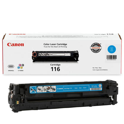 Canon 116C 1979B001AA Original Cyan Toner Cartridge