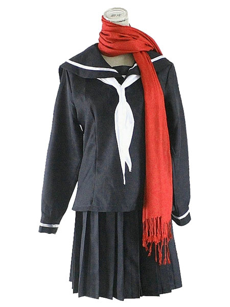 Milanoo Kagerou Project MekakuCity Actors Ayano Halloween Cosplay Costume Sports Wear Halloween