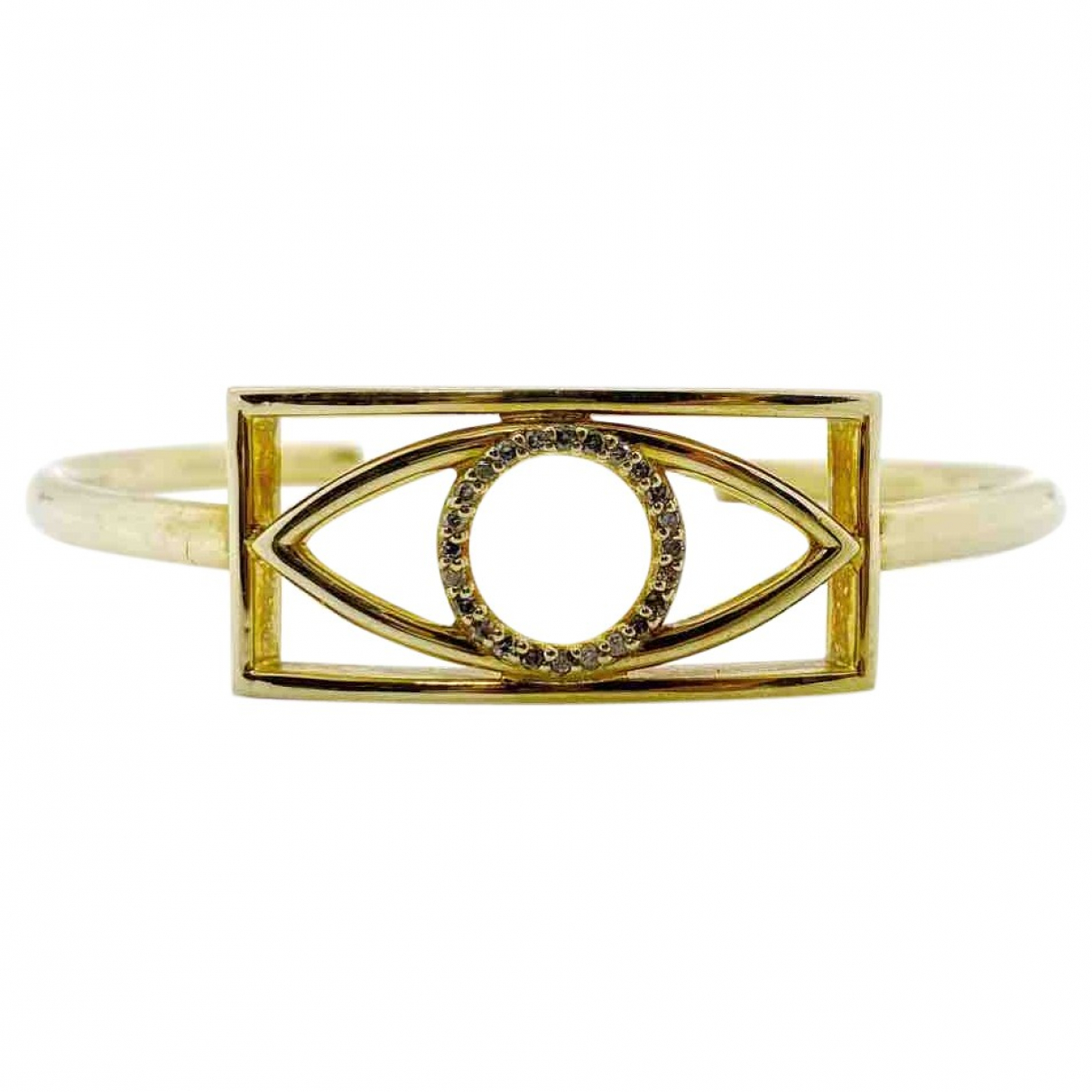 Non Signe / Unsigned \N Armband in  Gold Vermeil