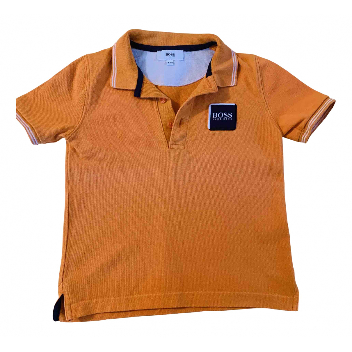 Boss N Orange Cotton  top for Kids 4 years - up to 102cm FR