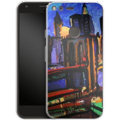 Google Pixel Silikon Handyhuelle - Alive At Night von Tom Christopher