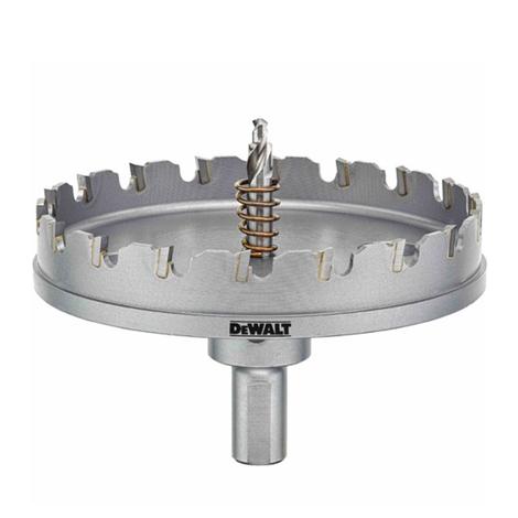 DeWalt 2-1/2# Metal Cutting Carbide Hole Saw