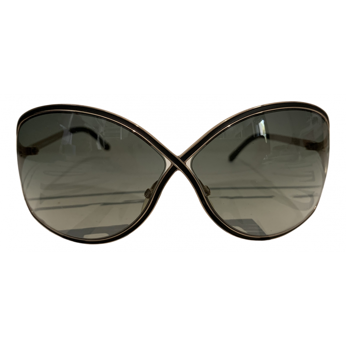 Tom Ford N Gold Metal Sunglasses for Women N