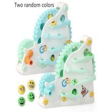 Kleinkind Zufaellige Farbe Schiebespielzeug