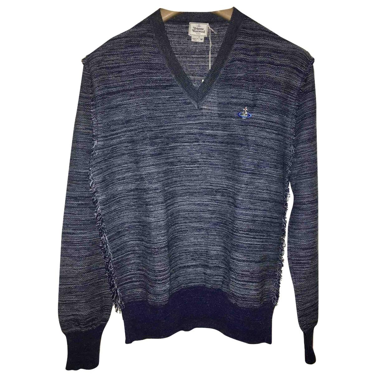 Vivienne Westwood \N Pullover.Westen.Sweatshirts  in  Blau Synthetik