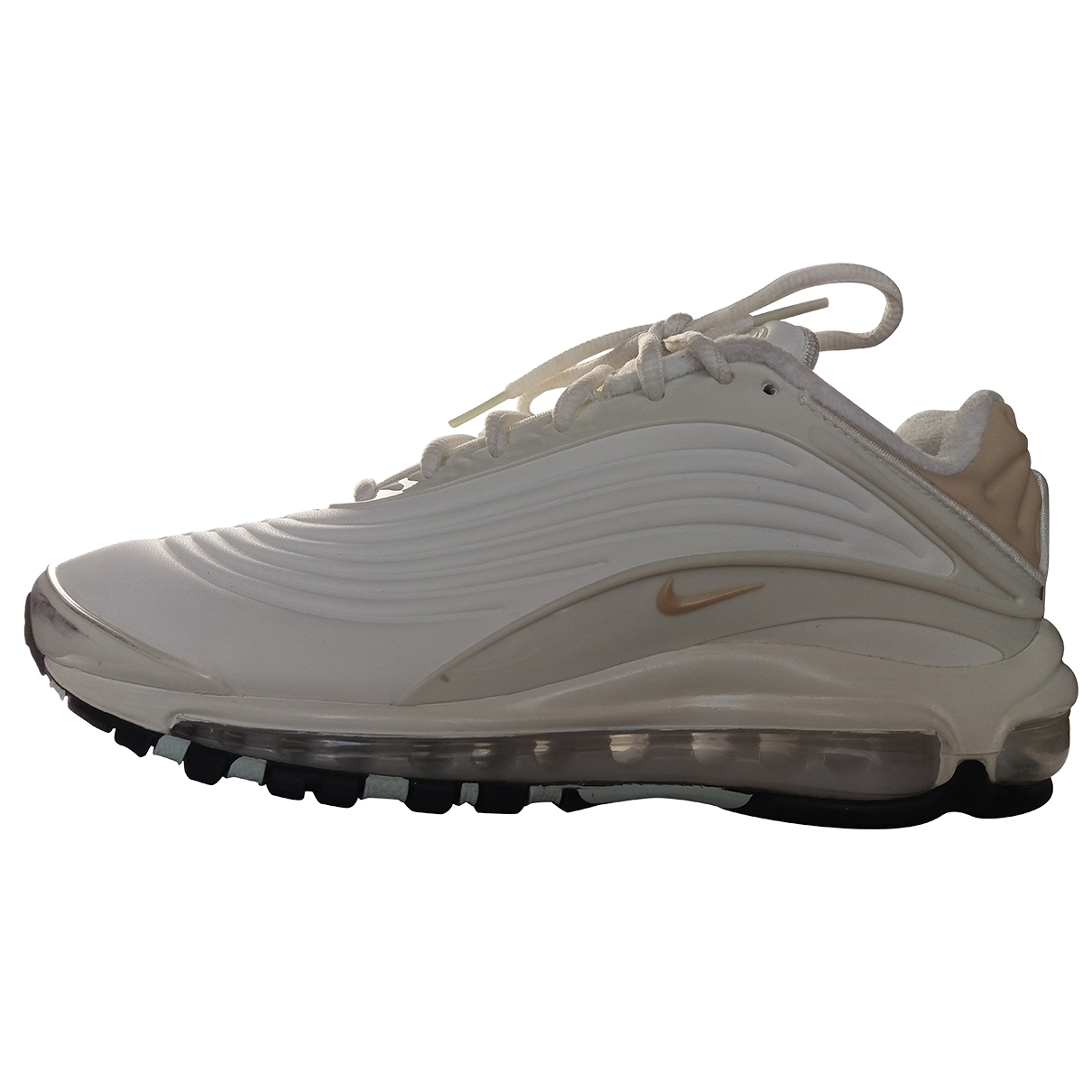 Nike Air Max Deluxe White Trainers for Women 39 EU