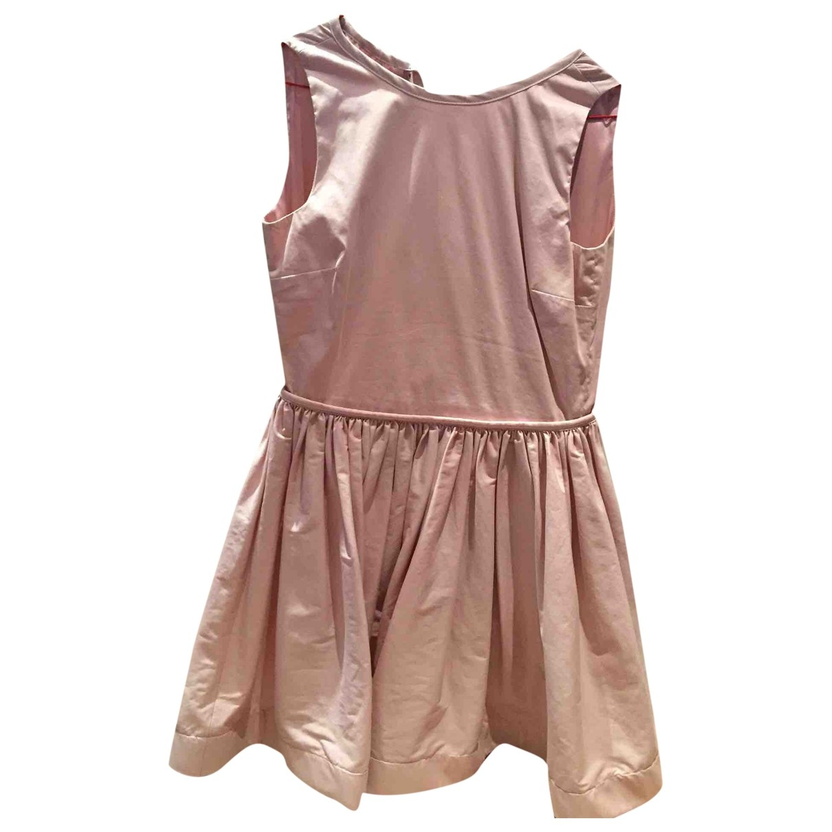 Red Valentino Garavani - Robe   pour femme en coton - rose