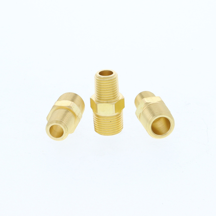 Power Products BP123-6-2 - Brass Reducing Nipple 3/8x1/8
