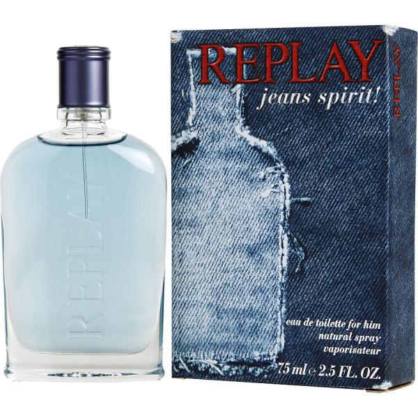 Jeans Spirit - Replay Eau de toilette en espray 75 ml