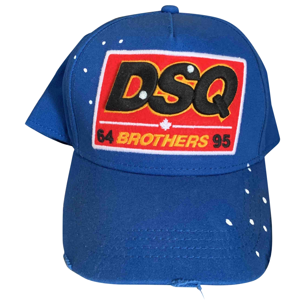 Dsquared2 \N Blue Cotton hat & pull on hat for Men M International