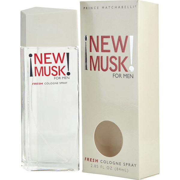 New Musk For Men - Prince Matchabelli Eau de Cologne Spray 84 ML