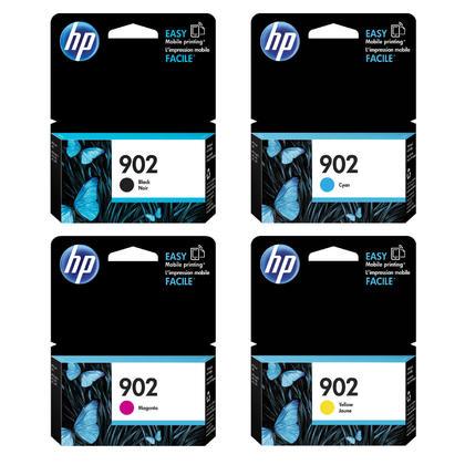 HP 902 T6L98AN T6L86AN T6L90AN T6L94AN cartouche d'encre originale combo BK/C/M/Y